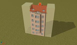 Simulación de la edificación en el Software de CYPE