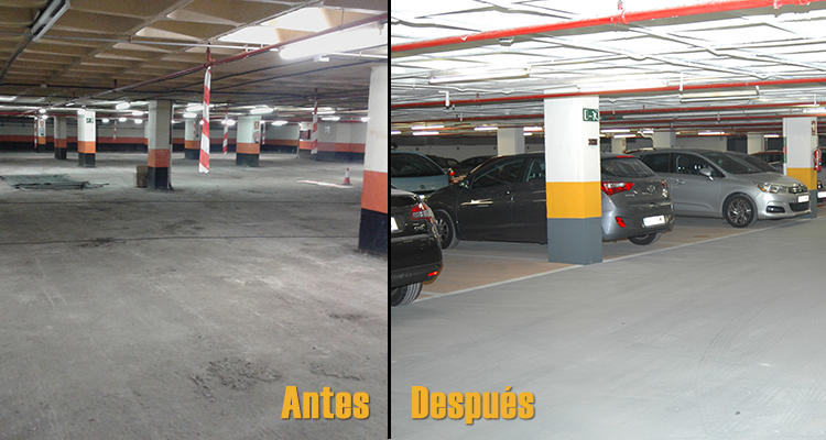 Pavimentos Weber Para Parkings Y Garajes