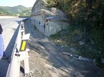 Proceso de instalación de las líneas de refuerzo y protección, detalle extremos