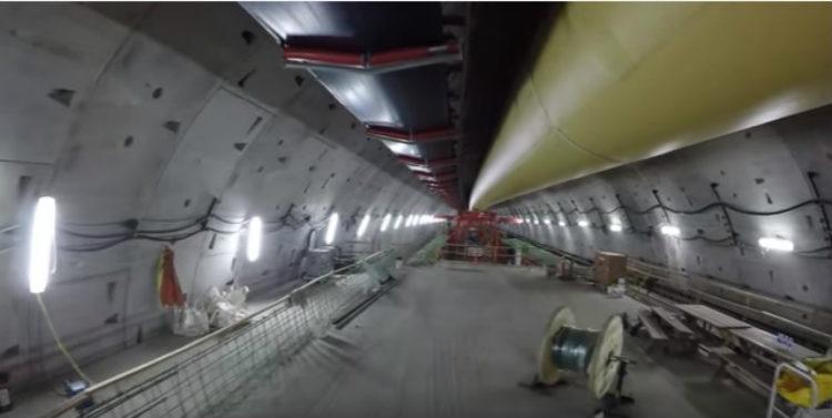 Dron-tunel