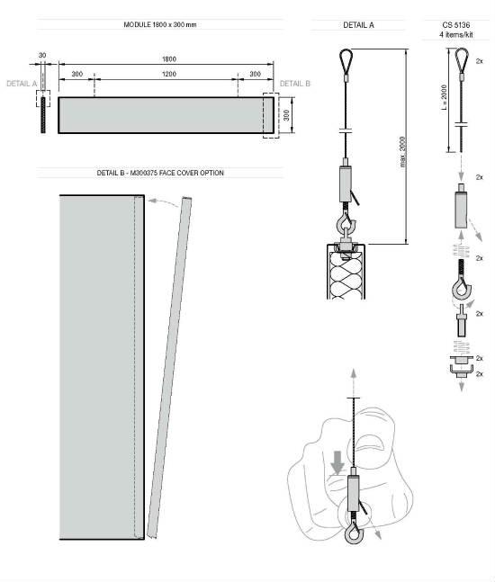 Techos METAL Baffles de Armstrong: máximas prestaciones acústicas