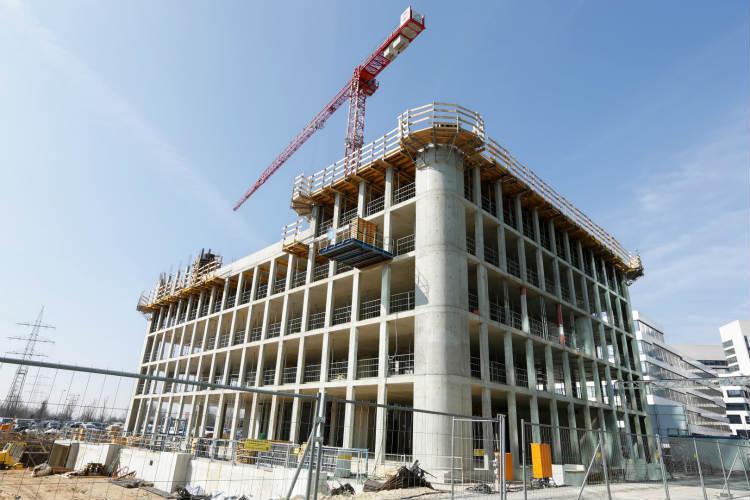 ulma en la construcci n del nuevo edificio de oficinas On videos de construccion de edificios