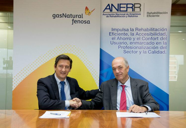Anerr lanza el proyecto rehabilita confort for Gas natural servicios