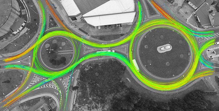 Aplicación de los drones en estudios de tráfico