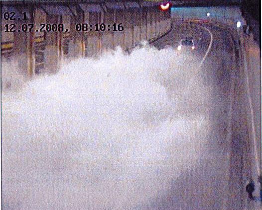 La detección precoz de incendios en túneles es posible