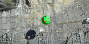Récord mundial en la protección contra la caída de rocas